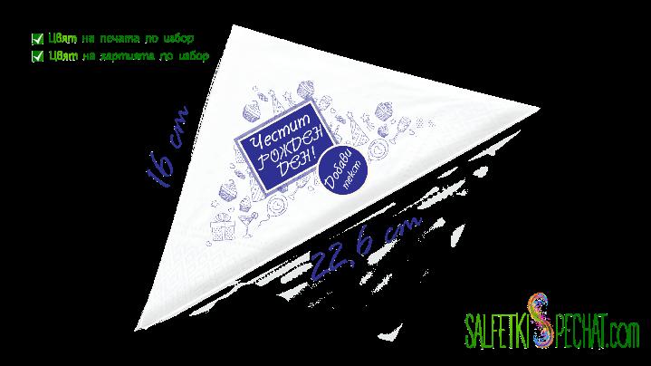 салфетка момчешки рожден ден - парти 16x22.6cm