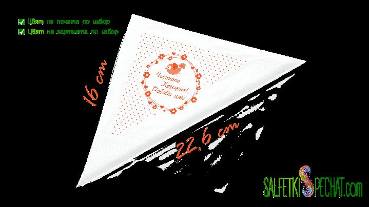 кръщене момиче - цветенца 16x22.6cm