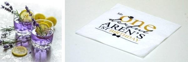 Персонализирани хартиени салфетки за маса