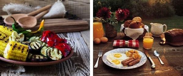 Рустик стил за есенната маса