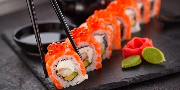 Суши етикет - японска кухня