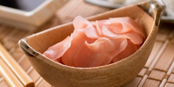 Маринован джинджифил към суши