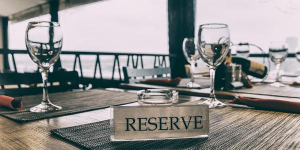 Резервирана маса