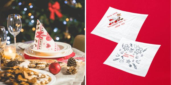 Коледни и Новогодишни салфетки