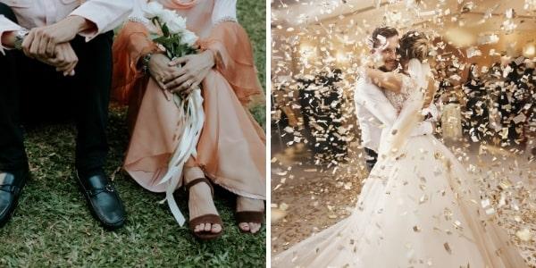 Сватба в две части